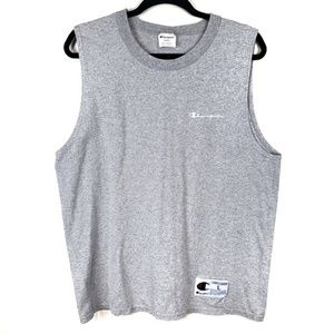 Vintage Champions mens sleeveless muscle tank top